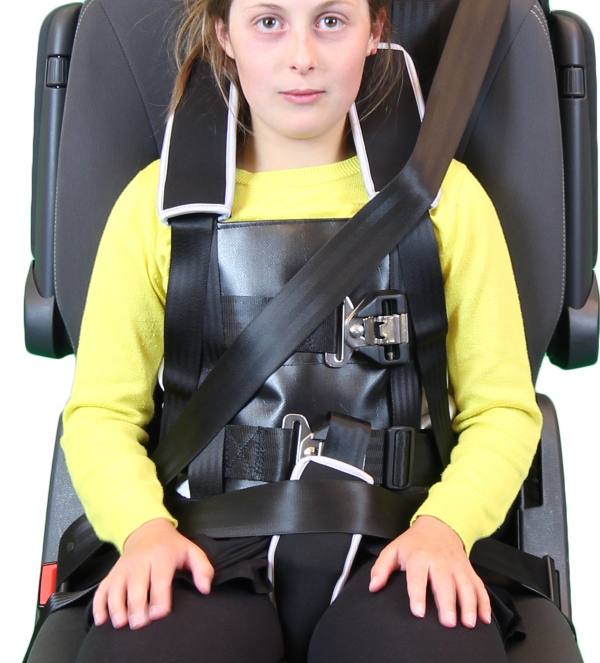 bus safety harness teenagers