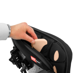 Instant contouring of the back support surface