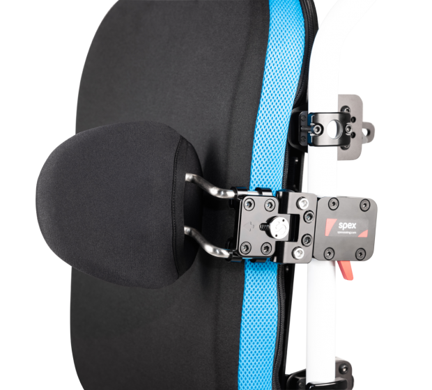 Spex Quick-Release Axial Swing-Away Back Mount Lateral Support