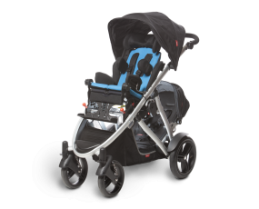 Verve buggy with sibling seat